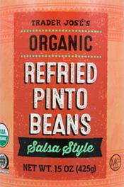 Trader Joe's Organic Refried Pinto Beans
