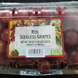 Trader Joe's Red Seedless Grapes