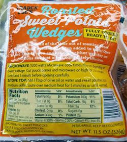 Trader Joe's Roasted Sweet Potato Wedges