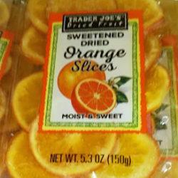 Trader Joe's Sweetened Dried Orange Slices