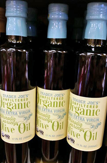 Trader Joe's Organic Greek Extra Virgin Athiniola Olive Oil