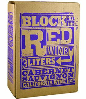 Trader Joe's Block Red Wine Cabernet Sauvignon