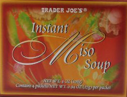 Trader Joe's Instant Miso Soup