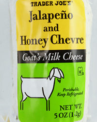 Trader Joe's Jalapeño and Honey Chevre
