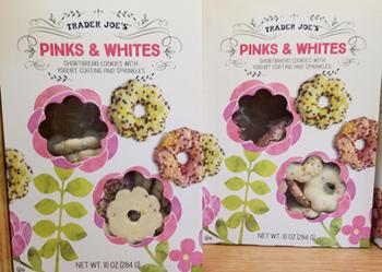 Trader Joe's Pinks & Whites Cookies
