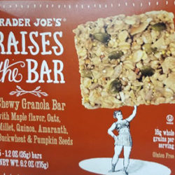 Trader Joe's Raises the Bar Maple Granola Bar