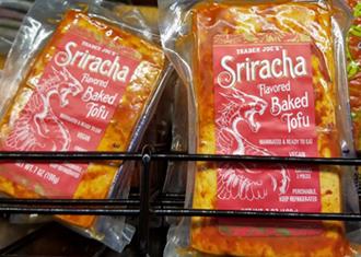 Trader Joe's Sriracha Flavored Baked Tofu Reviews
