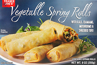 Trader Joe's Vegetable Spring Rolls