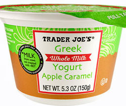 Trader Joe's Whole Milk Apple Caramel Greek Yogurt