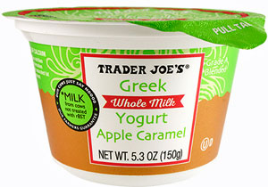Trader Joe's Whole Milk Apple Caramel Greek Yogurt
