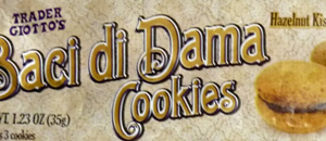 Trader Joe's Baci di Dama Cookies