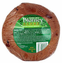 Trader Joe's Blarney Scone