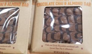 Trader Joe's Chocolate Chai & Almond Bar
