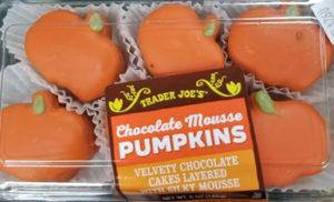 Trader Joe's Chocolate Mousse Pumpkins