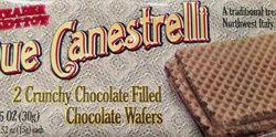 Trader Joe's Due Canestrelli Chocolate Wafers