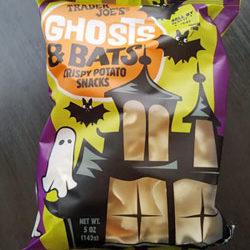 Trader Joe's Ghosts & Bats Crispy Potato Snacks