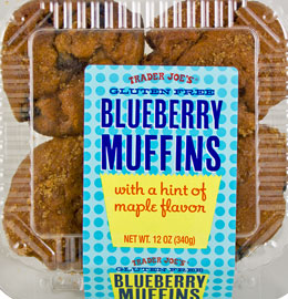 Trader Joe's Gluten-Free Blueberry Muffins Reviews