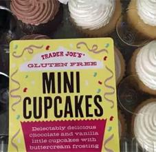 Trader Joe's Mini Gluten-Free Cupcakes