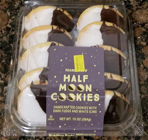 Trader Joe's Half Moon Cookies
