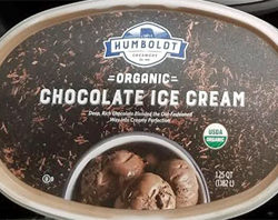 Humboldt Creamery Organic Chocolate Ice Cream
