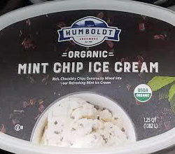 Humboldt Creamery Organic Mint Chip Ice Cream