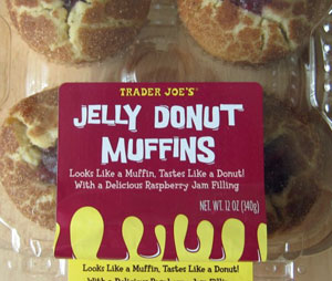 Trader Joe's Jelly Donut Muffins