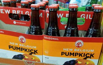 New Belgium Pumpkick Pumpkin Spiced Seasonal Ale Beer