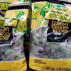 Trader Joe's Organic Lemony Greens Blend