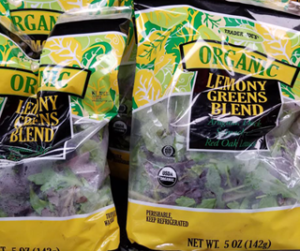Trader Joe's Organic Lemony Greens Blend