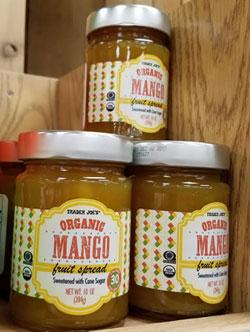 Trader Joe's Organic Mango Fruit Spread