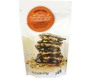 Trader Joe's Organic Pumpkin Spice Granola Bark Reviews