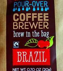 Trader Joe's Pour-Over Coffee Brewer (Brazil)