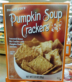 Trader Joe's Pumpkin Soup Crackers Reviews