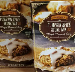 Trader Joe's Pumpkin Spice Scone Mix