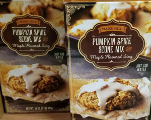 Trader Joe's Pumpkin Spice Scone Mix