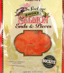 Trader Joe's Wild Sockeye Smoked Salmon Ends & Pieces