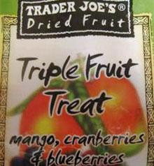 Trader Joe's Triple Fruit Treat