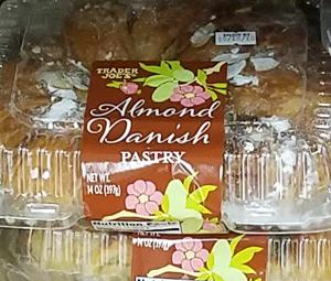 Trader Joe's Almond Danish Pastry