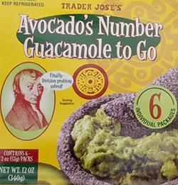 Trader Joe's Avocado's Number Guacamole To Go