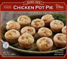 Trader Joe's Chicken Pot Pie Bites