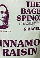 Trader Joe's Cinnamon Raisin Bagel Spinoza