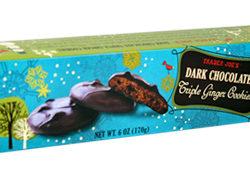 Trader Joe's Dark Chocolate Triple Ginger Cookies