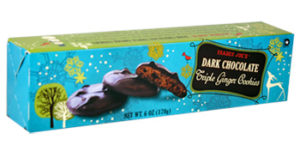 Trader Joe's Dark Chocolate Triple Ginger Cookies
