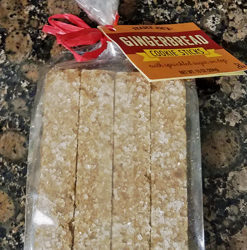 Trader Joe's Gingerbread Cookie Sticks