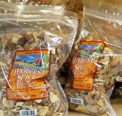 Trader Joe's Harvest Spice Trek Mix