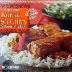 Trader Joe's Korma Fish Curry