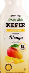 Trader Joe's Mango Kefir