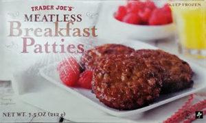 Trader Joe's Meatless Breakfast Patties