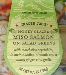 Trader Joe's Miso Salmon Salad