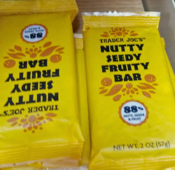 Trader Joe's Nutty Seedy Fruity Bar
